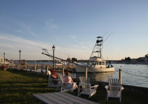 View from Boothbay Harbor Inn